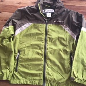 Columbia Youth Lightweight Rain Jacket